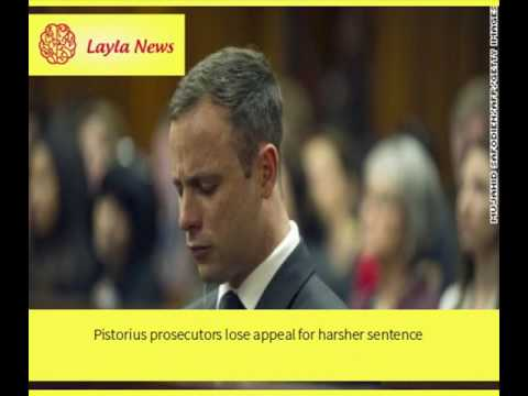 Pistorius prosecutors lose appeal for harsher sentence |  By : CNN