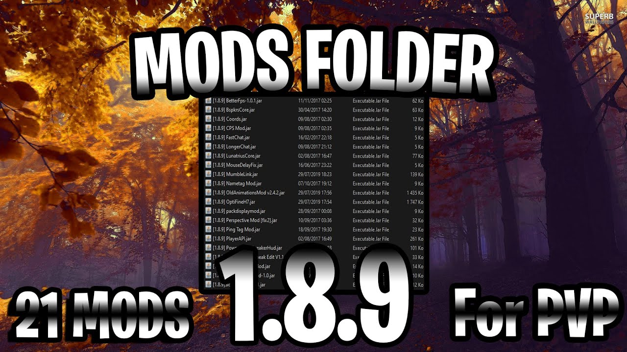 1 8 9 Pvp Uhc Mods Release 21 Mods 2019 Update Youtube