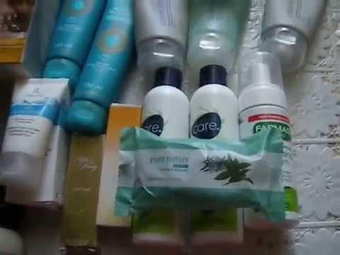 Видео мои запасы уходовой косметики