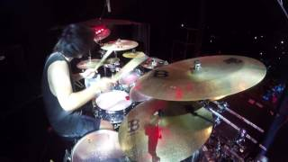 Download Video [Drum Cam] BURGERKILL - Darah Hitam Kebencian + Penjara Batin (live at Rockin' Noizee 2017) MP3 3GP MP4