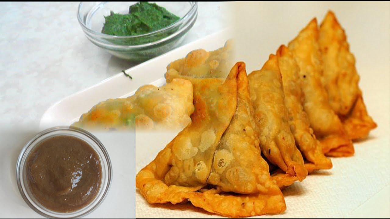 Vegetable Samosa video recipe - Paneer and Cauliflower ...