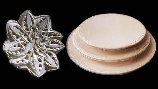 Необычная тарелка, резьба по дереву, оформление декоративных тарелок