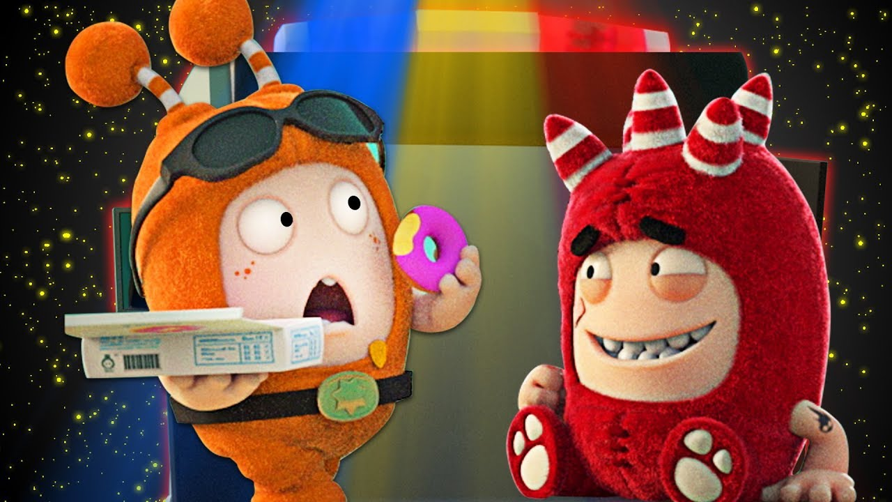 Detective Odd | ODDBODS Full Episodes | Funny Cartoons For Children