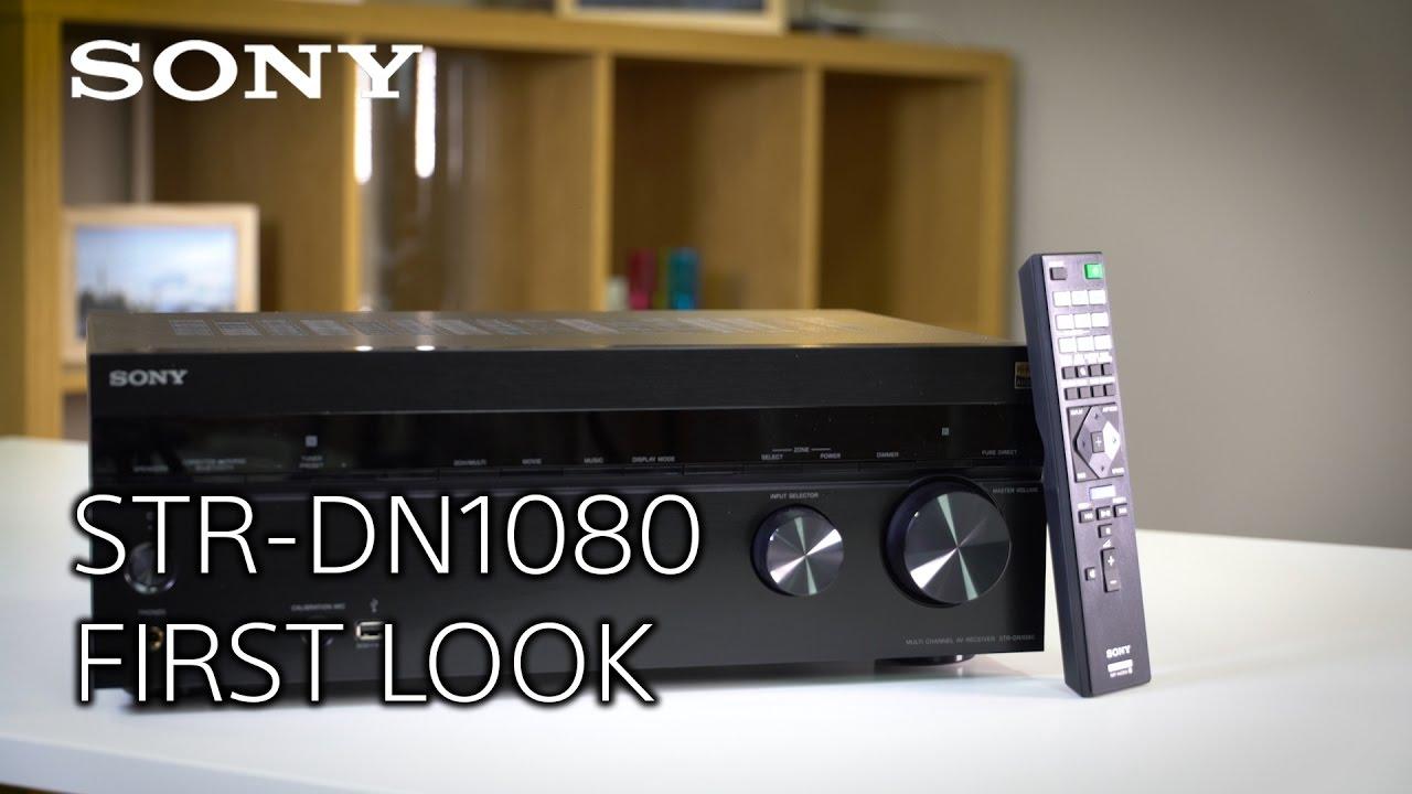 the new str dn1080 av home cinema receiver youtube