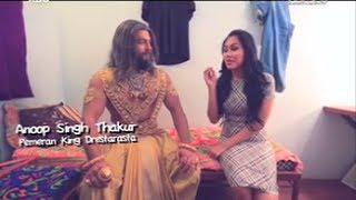 Campur Campur  : Liputan Kartika Putri Pada Pembuatan Serial Mahabharata Di India