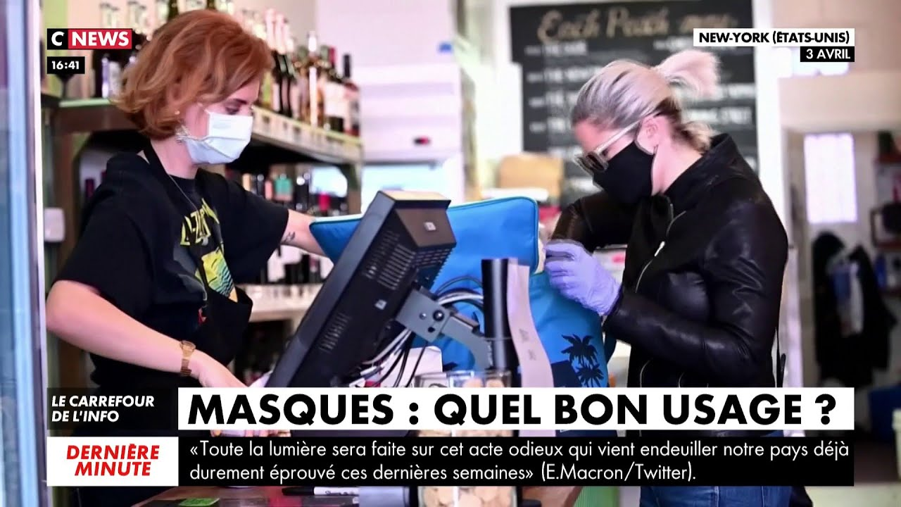 Masques : quel bon usage ?
