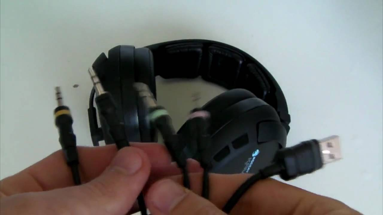 71a5bcd4f83 Review: Roccat Kave | 5.1 Surround Sound Gaming Headphones - YouTube