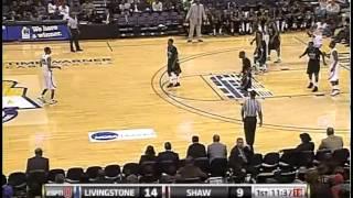 Devon Mclendon (Livingstone vs Shaw) (CIAA Tournament Campionship)