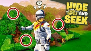 ALMOST IMPOSSIBLE HIDING... - Hide & Seek in Fortnite