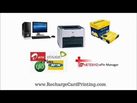How To Print MTN Recharge Cards in Nigeria