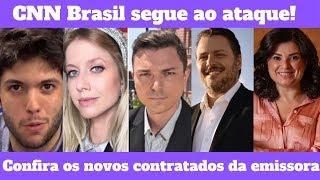 De Caio Coppolla a Diego Rezende confira as últimas contratações da CNN Brasil