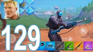 Fortnite - Gameplay Walkthrough Part 129 - New Infantry Rifle Solo Win (iOS)
