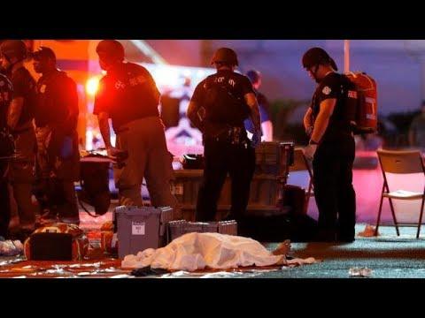 Las Vegas shooting: Social media videos capture chaos on the ground (Warning: Disturbing content)
