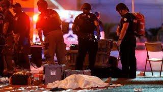 Las Vegas shooting: Social media videos capture chaos on the ground (Warning: Disturbing content) thumbnail