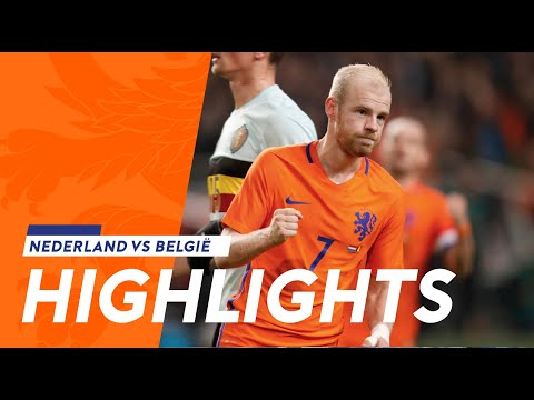 Highlights Nederland - België (9/11/2016)