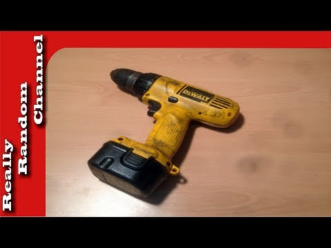 DeWalt drill cleanup (light restoration)