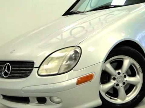 2003 Mercedes-Benz SLK-Class SLK320 Convertible - Rolling Meadows, IL