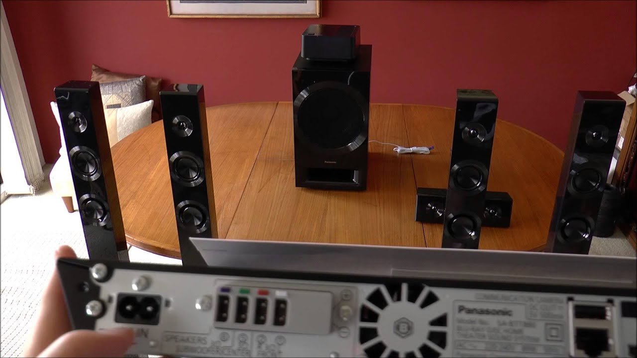 Panasonic SC BTT880 3D Blu Ray Home Theatre System Preview