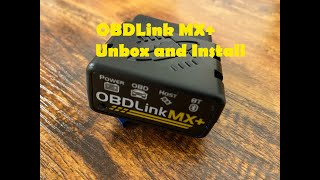 Unboxing my OBDLink MX+ and setting it up on my iPhone with my 2016 Ford Fusion Titanium