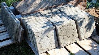 Тротуарная плитка своими руками - экономно и практично(Подробная инструкция — как сделать тротуарную плитку своими руками экономно, для садовых дорожек и площад..., 2014-06-29T16:29:33.000Z)