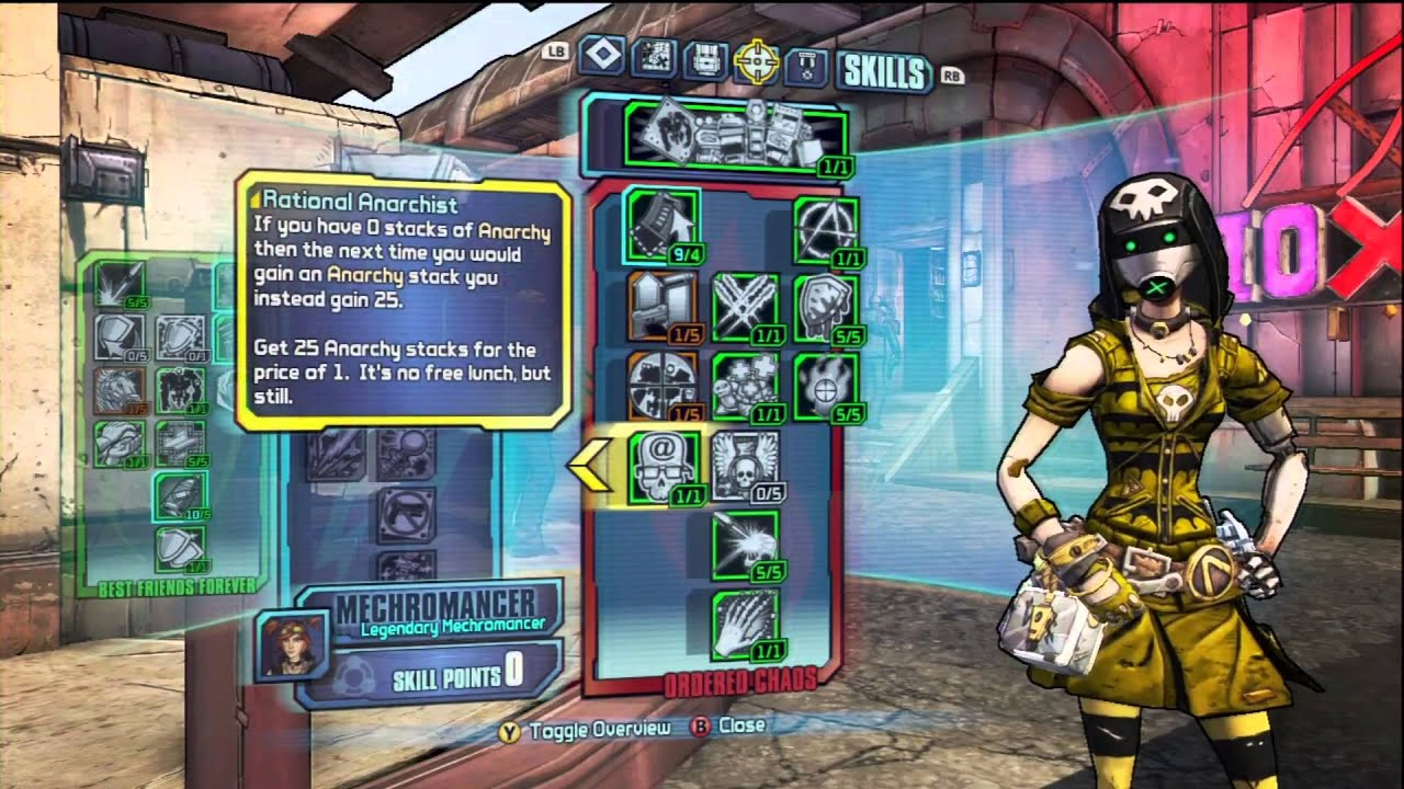 Borderlands  Meilleur Build Gaige