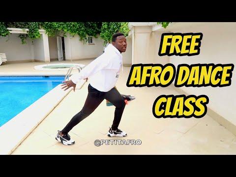 *FREE* Afro Dance Class By Petit afro    Song: Nyonga Remix By Petit Afro Ft Moris Beat