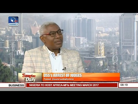 Sunrise Daily: Nigerians Have Lost Confidence In Justice, Common Man Has No Hope-- Nya Etok Pt 2