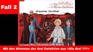 Die Alster Detektive - Fall 2 - Grausame Zustände - Kostenlos - Hörspiel -  für Kinder ab 8 Jahre