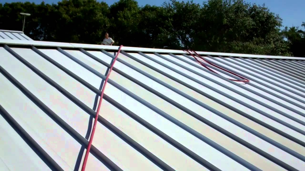 Metal Roof Cleaning Clearwater Florida 727 483 8177 Mp4