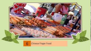 Chinese Finger Food