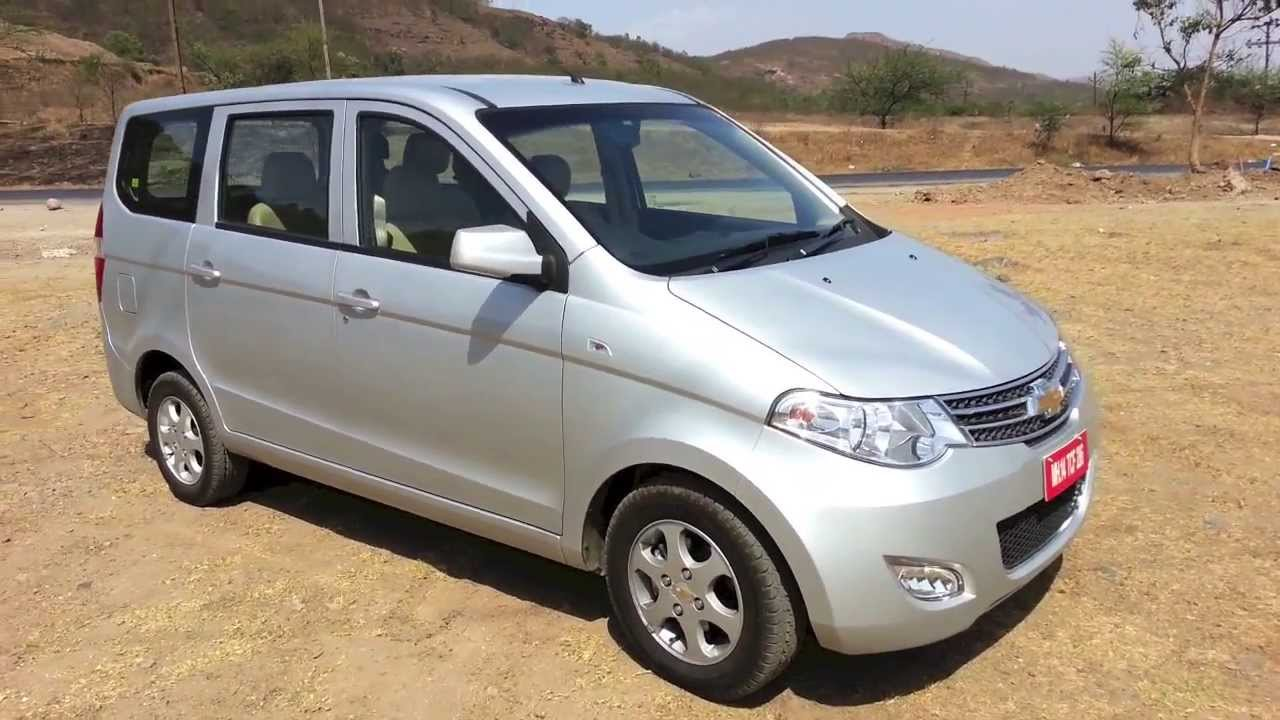 2013 Chevy Enjoy In India Walkaround