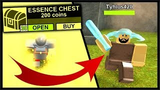 HE STOLE $1000 ROBUX OF ESSENCE EXP?!?! | Roblox Booga Booga