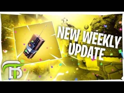 *NEW* Fortnite C4 Explosive, Blitz Game Mode, Weekly Challenges & More (Fortnite Battle Royale)