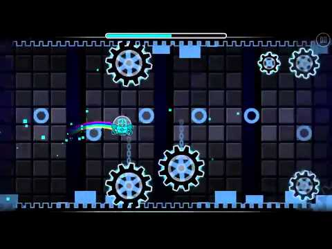 Solar Wind (geometry dash custom level) by- 8P