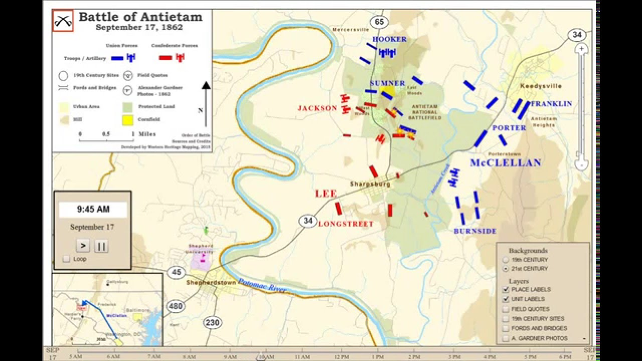 the battle of antietam Want the facts about the battle of antietam which resulted in over 23000 casulaties learn about the battle, its outcome, and its significance.