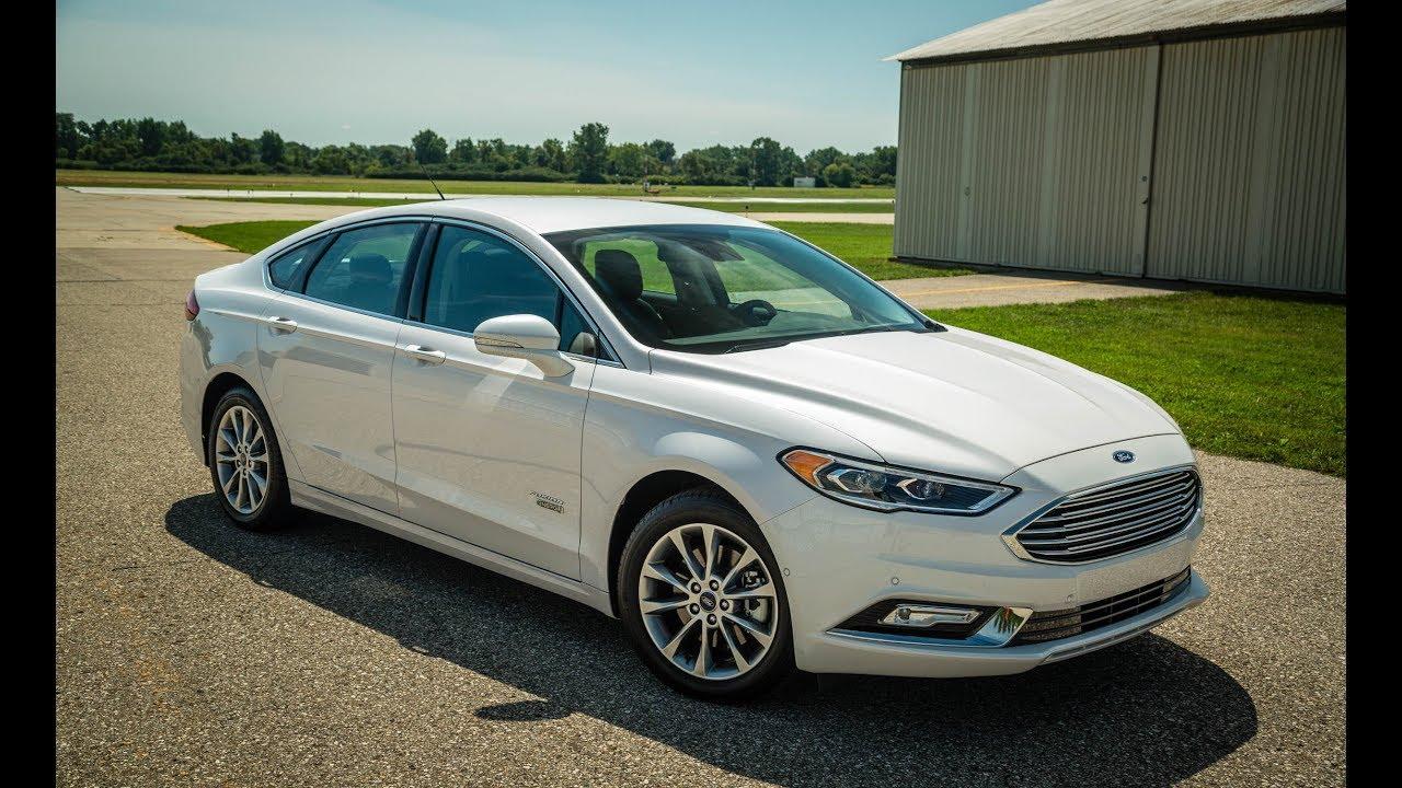 2017 Ford Fusion Energi Plug In Hybrid Performence
