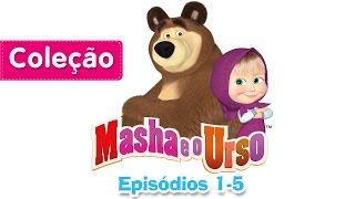 Masha e o Urso - Сoleção 3 (Episódios 1-5) Desenho Animado | Compilação de 30 mins