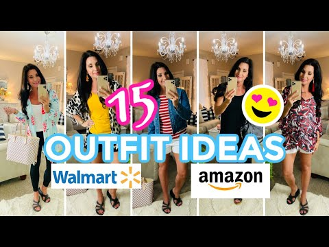 15-cute-outfit-ideas~walmart-/-amazon-/thrift-store-👜i-love-summer-ep5-olivia's-romantic-home