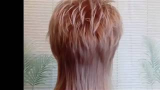 """Стрижка """"Шапочка"""" на длинные волосы."""