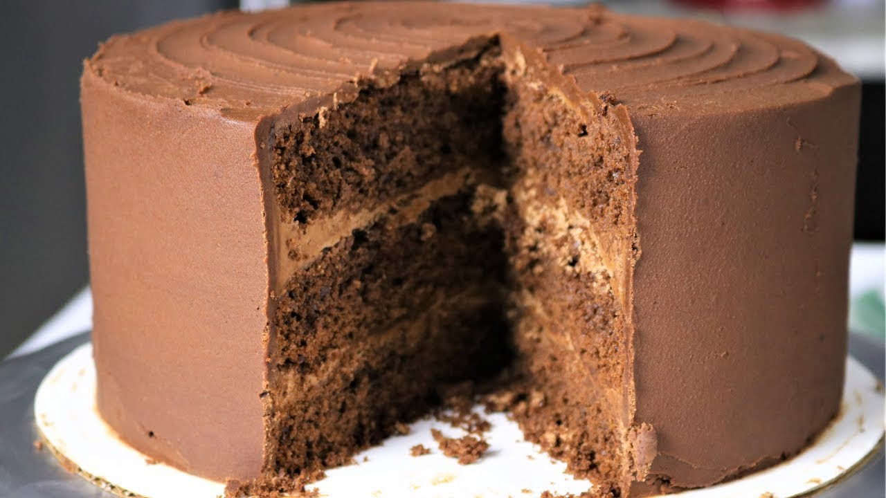 Chocolate Cake With Chocolate Frosting STEP by STEP Recipe ...