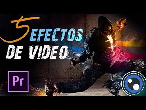 5 Efectos de VIDEO en Premiere Pro / Tutorial