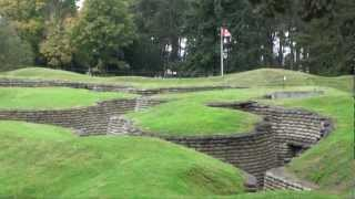 Vimy Ridge World War 1 Trenches & Canadian Memorial. European Driving Tours