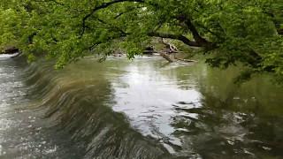 Beautiful Low Head Dam in Corwin, Ohio