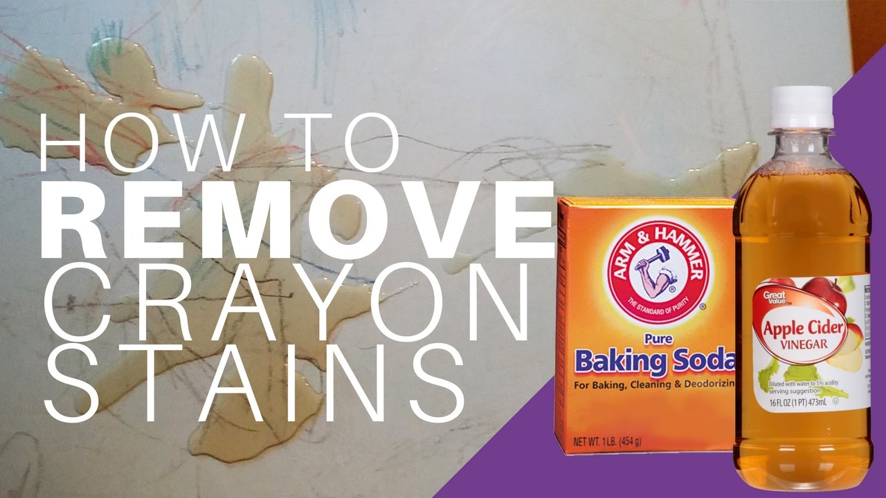 How To Remove Crayon From Plastic Furniture With Baking