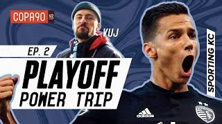 Surviving BBQ, Superman & Tailgating at Sporting Kansas City | COPA90 Playoff Power Trip Ep. 2