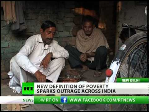 That's Rich: New 'poverty standards' enrage Indians