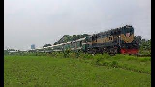 LHB made Intercity Train Sagordari Express (Rajshahi-Khulna) of Bangladesh Railway