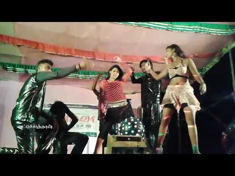Tamil New Hot Stage Dance 2017-kollywood songs in night dance
