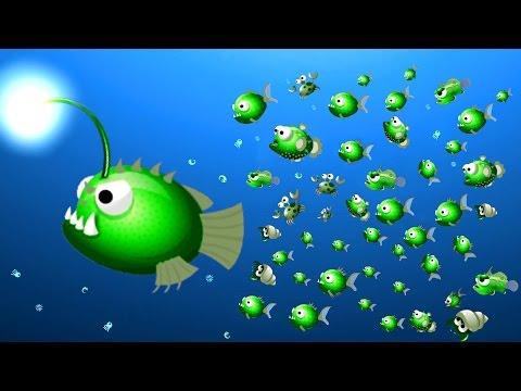 BIGGEST KILLER FISH SQUAD! (Oceanar.io)