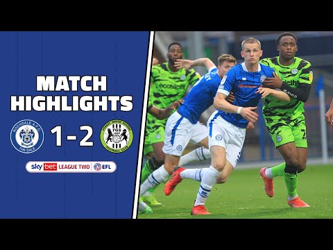 Rochdale Forest Green Goals And Highlights